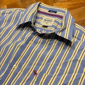 Men's A&F Button Down Shirt